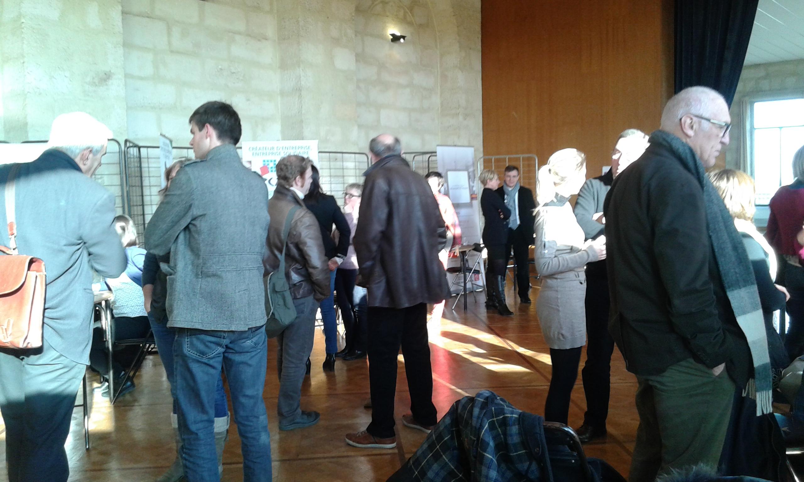Participants au forum des journées régionales ressources solidaires